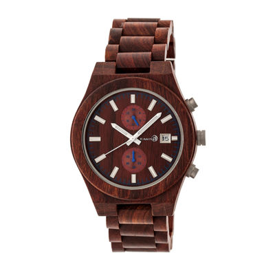 Earth Wood Castillo Unisex Red Bracelet Watch-Ethew5103