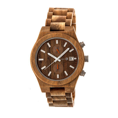Earth Wood Castillo Unisex Green Bracelet Watch-Ethew5104