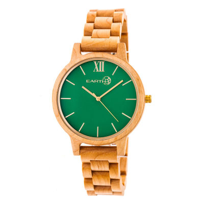 Earth Wood Pike Unisex Brown Bracelet Watch-Ethew5201