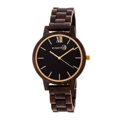 Earth Wood Pike Unisex Brown Bracelet Watch-Ethew5202