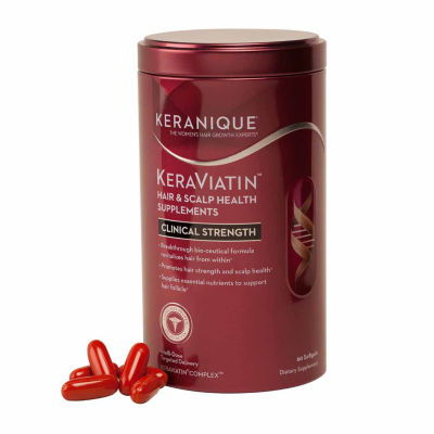 Keranique Keraviatin Hair & Scalp Health Supplements Clinical Strentch Supplement
