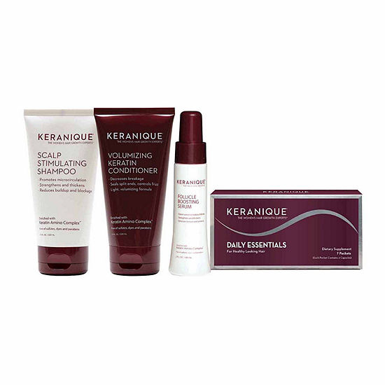 Keranique Ultimate Nourishing Volumizing System Value Set