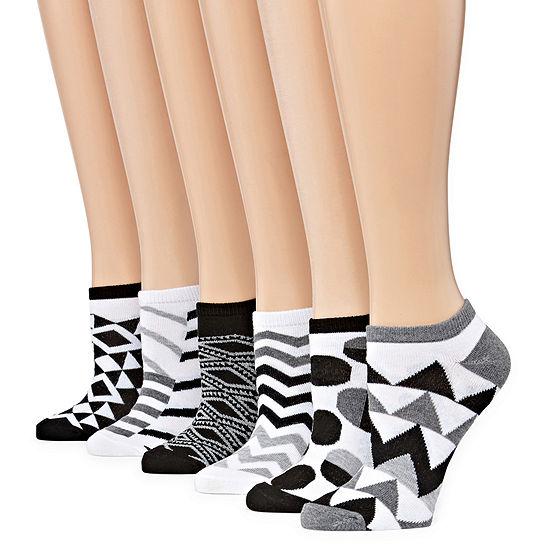 Mixit 6-pc. No Show Socks Womens