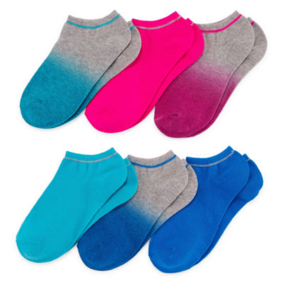 Mixit 6-pc. No Show Socks - Womens