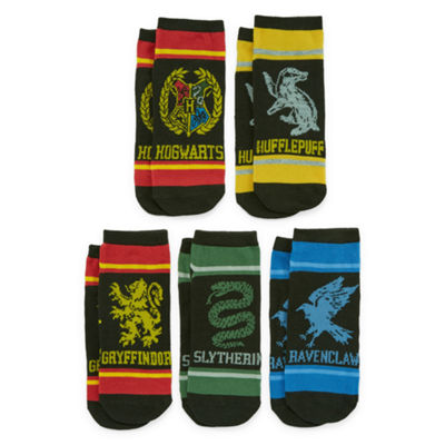 Mixit 5 Pair Harry Potter No Show Socks - Womens