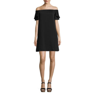 Kelly Renee Off the Shoulder Shift Dress