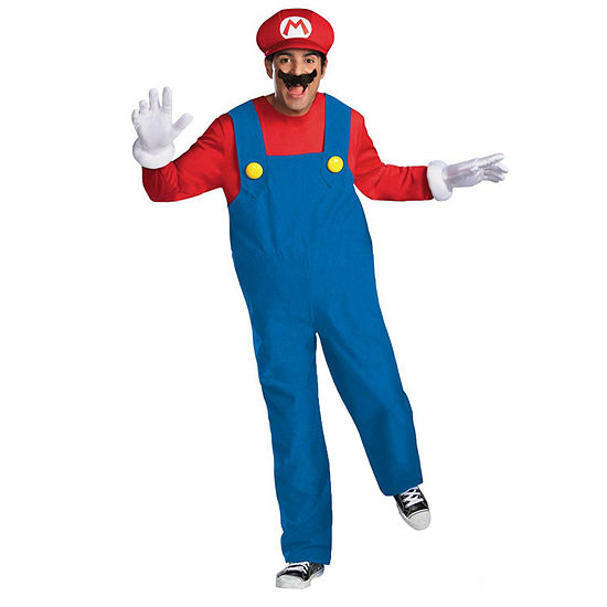 Super Mario Bros Mario Plus Size Costume