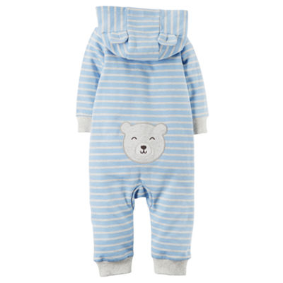 Carter's Long Sleeve Jumpsuit - Baby Boys