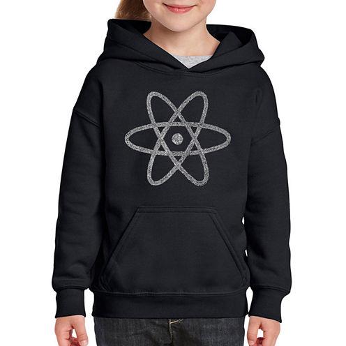 Los Angeles Pop Art Atom Long Sleeve Sweatshirt Girls