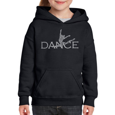 Los Angeles Pop Art Dancer Long Sleeve Sweatshirt Girls