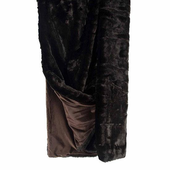 Rizzy Home Luxurious Faux Fur Faux Fur Throw