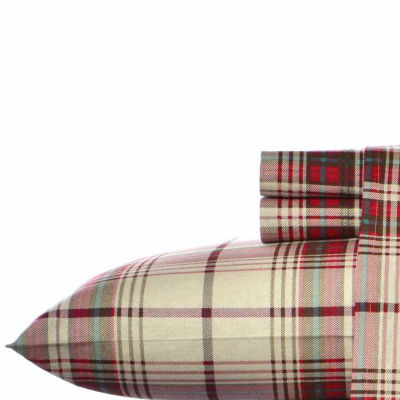 Eddie Bauer® Montlake Easy Care Flannel Sheet Set