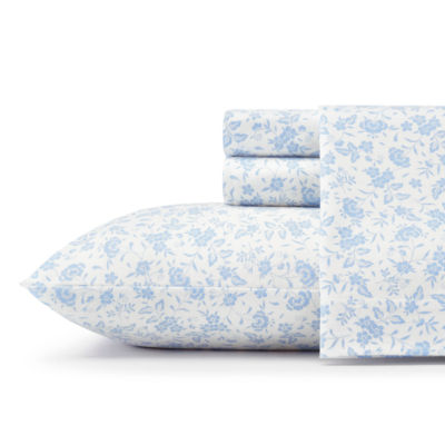 Laura Ashley Helena Flannel Sheet Set