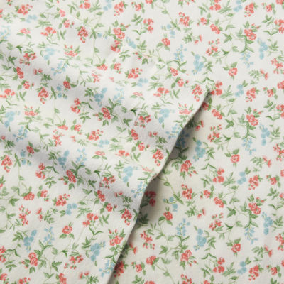Laura Ashley Lucy Flannel Sheet Set