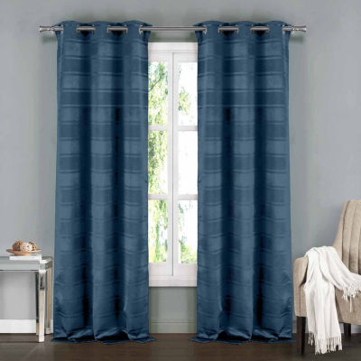 Everest 2-Pack Blackout Grommet-Top Curtain Panels