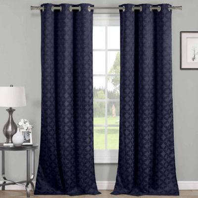 Harper 2-Pack Blackout Grommet-Top Curtain Panels