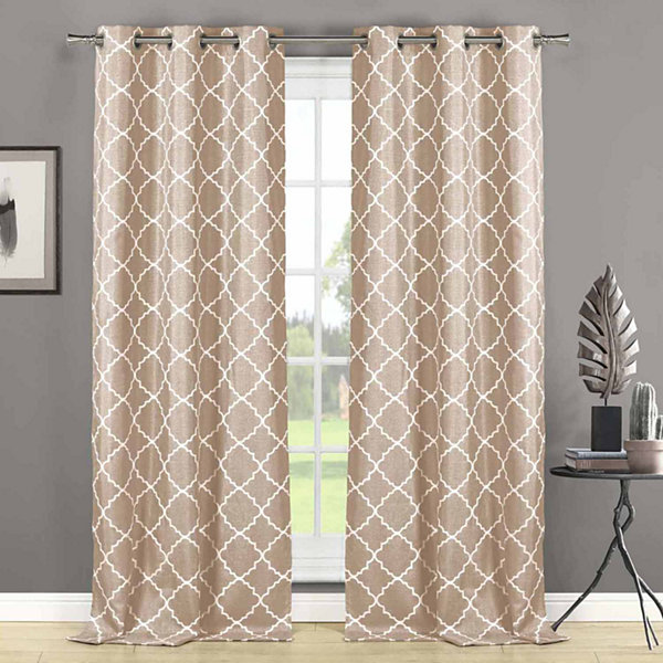 Nataly 2-Pack Grommet-Top Curtain Panels