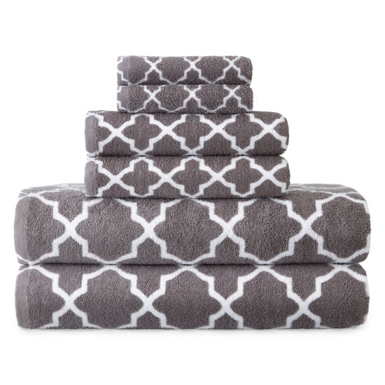 Jcpenney Home™ Lattice 6-pc. Towel Set