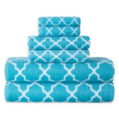 Jcpenney Home™ Lattice 6-pc. Towel Set