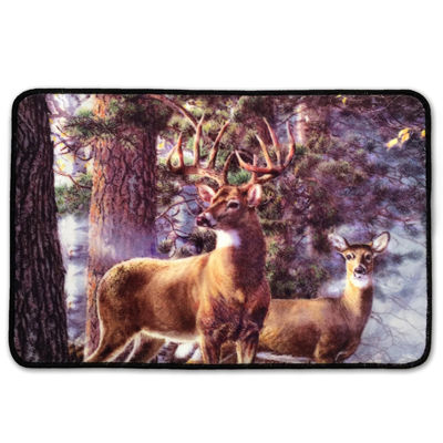 Laural Home Deer Time Bath Mat