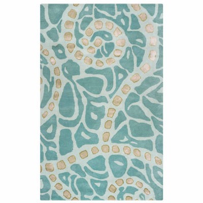 Rizzy Home Gillespie Avenue Collection Hand-TuftedPenelope Abstract Area Rug
