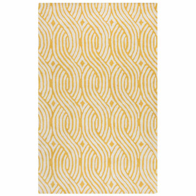 Rizzy Home Julian Pointe Collection Hand-Tufted Elizabeth Abstract Area Rug