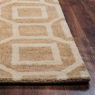 Rizzy Home Julian Pointe Collection Hand-Tufted Everly Geometric Area Rug