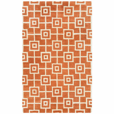 Rizzy Home Julian Pointe Collection Hand-Tufted Nora Geometric Area Rug
