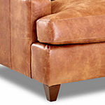 Calan Track-Arm Leather Chair