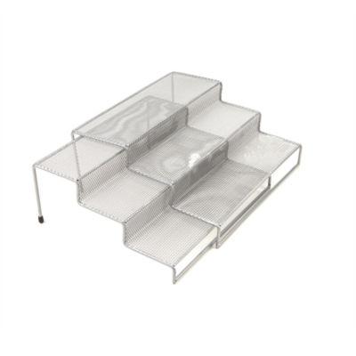 Mind Reader 2-Piece  3-Tier Kitchen Spice Shelf