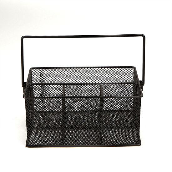 Mind Reader Mesh Storage Basket