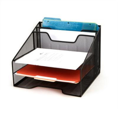 Mind Reader 5-Compartment Mesh Organizer