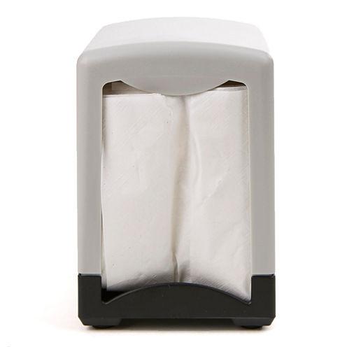"""Mind Reader 2 Pack 7"""" Interfold Table Top Napkin Dispenser"""