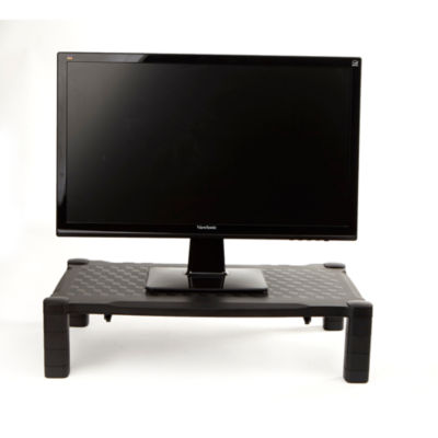 Mind Reader Extra-Wide Height Adjustable Monitor Stand / Riser