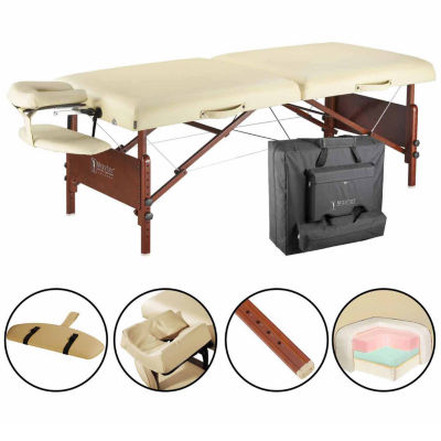 "Master® Massage 30"" Del Ray Pro portable Massage Table in Sand Color"