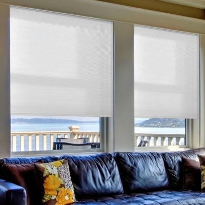 Home Expressions Cut-to-Width Cordless Light-Filtering Cellular Shade