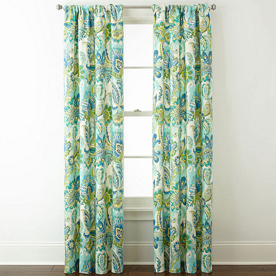 Home Expressions™ Charlotte 2-Pack Rod-Pocket Curtain Panels