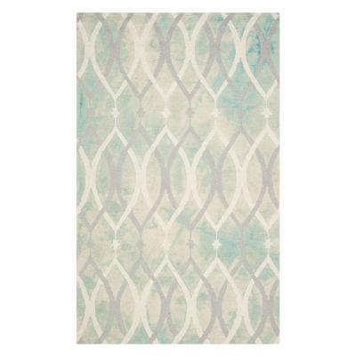 Safavieh Dip Dye Collection Harlan Geometric Area Rug