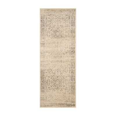 Safavieh Elwin Floral Square Indoor/Outdoor Rugs