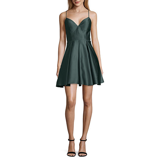 DJ Jaz Sleeveless Party Dress-Juniors