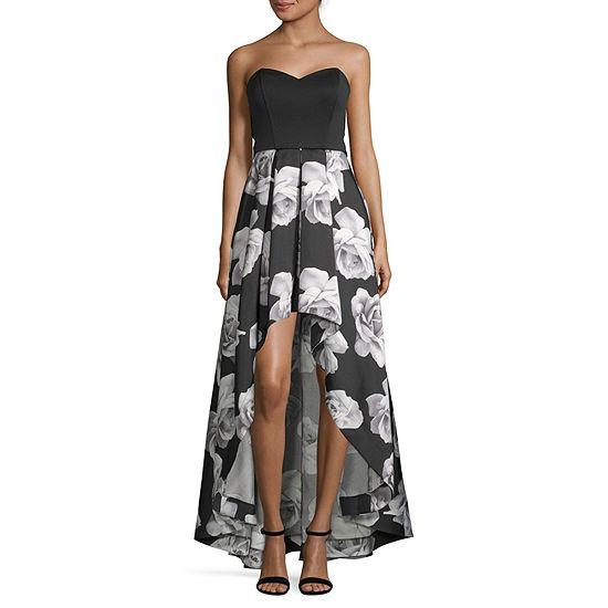 Speechless-Juniors Sleeveless Floral Fit & Flare Dress