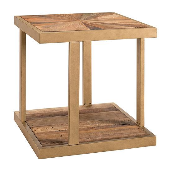 Olathe Reclaimed Wood End Table