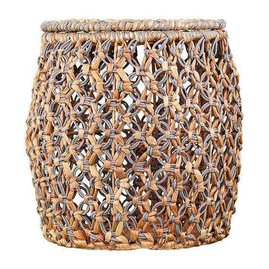 Fiwil Water Hyacinth Accent Table