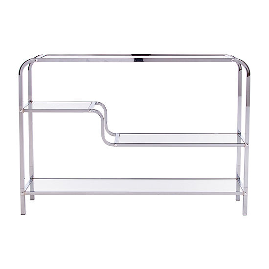Richlod Mirrored Console Table