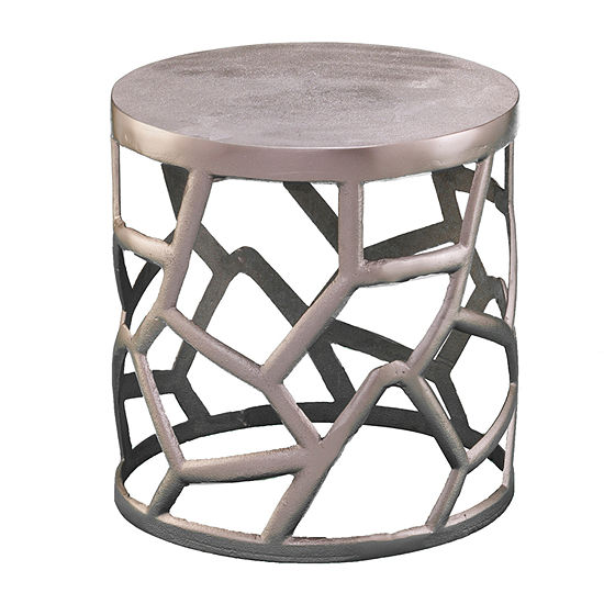 Slandse Metal Accent Table