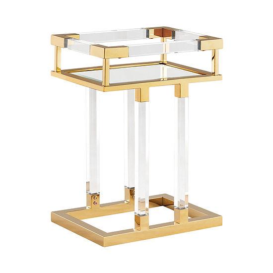 Framswe Acrylic Side Table