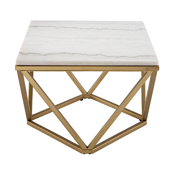 Giaza Marble Accent Table