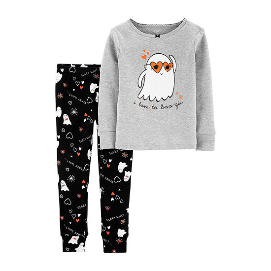 Carter's Halloween Girls 2-pc. Pajama Set Toddler
