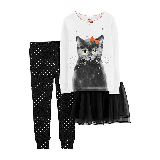 Carter's Halloween Girls 3-pc. Pajama Set Toddler