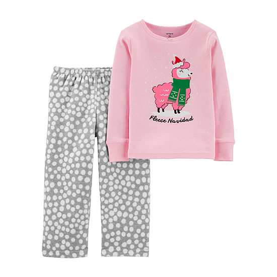 Carter's Christmas Girls 2-pc. Pajama Set Toddler